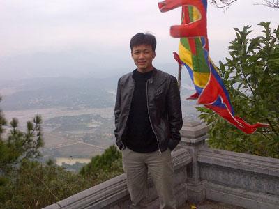 Phạm Minh Sơn, lập trình viên Công ty TNHH Tài chính công FPT IS (FPT IS PFS). Ảnh: NVCC.