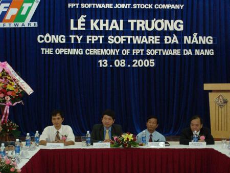 Lễ khai trương Chi nhánh FSOFT tại Tp. Đà Nẵng được tổ chức long trọng Tòa nhà Ngân hàng Đông Á, đg Nguyễn Văn Linh, TP Đà Nẵng.