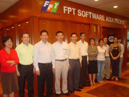 Ngày 13/3/2007, FPT Software Asia Pacific chính thức được khai trương tại Singapore, đánh dấu một bước tiếp của FPT Software và FPT trên con đường Toàn cầu hóa. Địa chỉ của công ty là 111 North Bridge Road, #04-44 Peninsula Plaza, Singapore 179098. Trong thời gian đầu thành lập, nhân sự FAP có 5 người: Hoàng Việt Anh, Nguyễn Hoàng Trung, Nguyễn Hoài Anh, Trần Thanh Hoài, Lê Hoài Vân.
