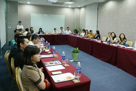 Hội thảo thu hút khoảng 30 doanh nghiệp là tập đoàn, công ty lớn trên địa bàn TP HCM tham dự.