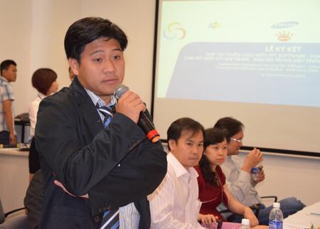 Trong cuộc họp báo sau đó, nhiều phóng viên đã bày tỏ sự quan tâm đến các nội dung của dự án. Theo anh Nguyễn Thành Tài, quản trị dự án, công tác triển khai và bảo mật sẽ được đơn vị