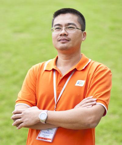 Anh tin tưởng, thị trường Campuchia sẽ đóng góp 50 triệu USD cho mục tiêu 1 tỷ USD của tập đoàn. Ảnh: Nguyên Anh.