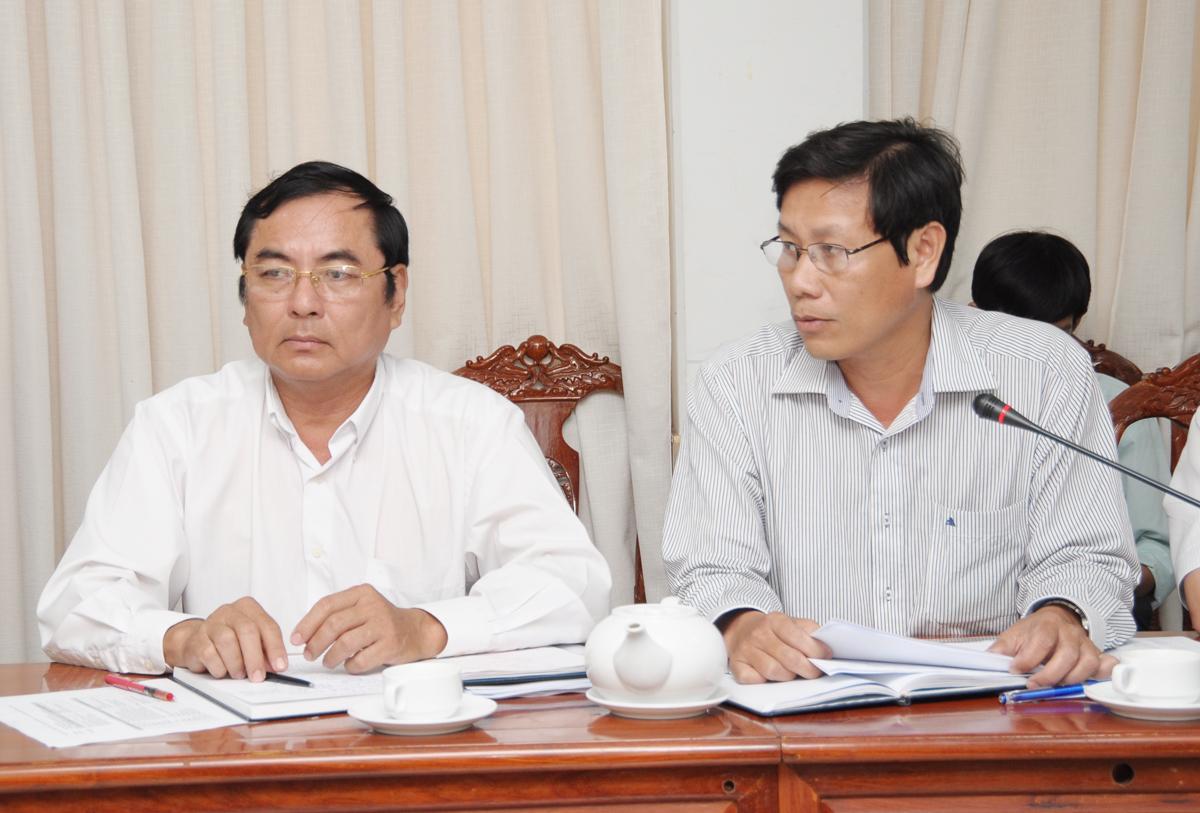 Bác sĩ Cao Minh Chu, PGĐ Sở Y tế, đề xuất mô hình thuê dịch vụ đối với ngành y tế Cần Thơ.