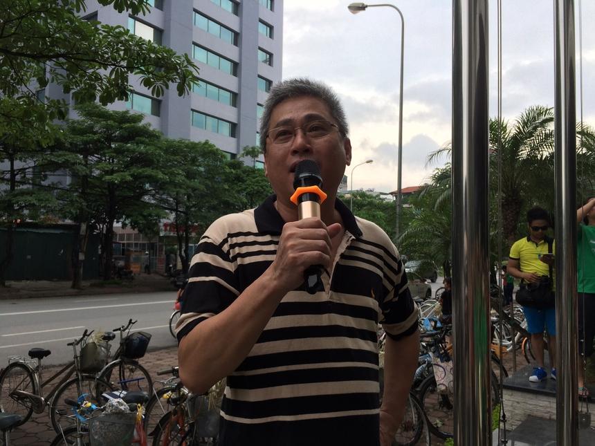 Trưởng Ban Văn hóa - Đoàn thể FPT (FUN) Lê Đình Lộc cho biết, điều anh lo lắng nhất là thời tiết thì trời lại quá đẹp. Do vậy, anh hy vọng mọi người tham gia giải sẽ vui và an toàn cho đến hết hành trình.