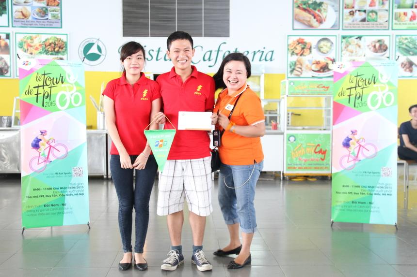 Quán quân của mùa giải trướcPhạm Quang Trung (ESS, FPT Software) và Trần Thị Thùy Trang đứng ở vị trí thứ Ba.