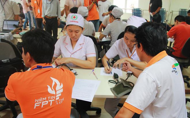 Các chỉ số của người hiến cũng được kiểm tra chặt chẽ. Trước đó, Ban tổ chức cũng đã gửi thông tin lưu ý đến những người đăng ký.