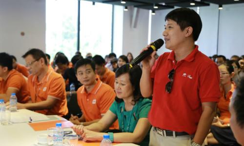 Hơn 550 lượt CBNV đóng góp Nâng cao năng lực cạnh tranh
