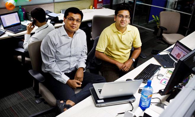 6. Flipkart. Giá trị thương hiệu: 15 tỷ USD. CEO: Sachin Bansal. Năm thành lập: 2007 Flipkart là một trang thương mại điện tử chuyên về hàng điện tử và các nội dung như sách, nhạc. Số tiền góp vốn: 2,5 tỷ USD. Các nhà đầu tư đáng chú ý: Digital Sky Technologies, T Rowe Price, Morgan Stanley, Vulcan Capital, Tiger Global Management.