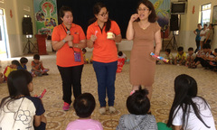 Sinh viên Brunei dạy tiếng Anh tình nguyện cho trẻ mồ côi