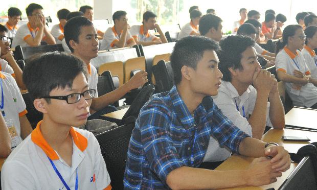Các thí sinh đánh giá cao chương trình ở khâu tổ chức và các hoạt động nhắm kết nối đồng đội.