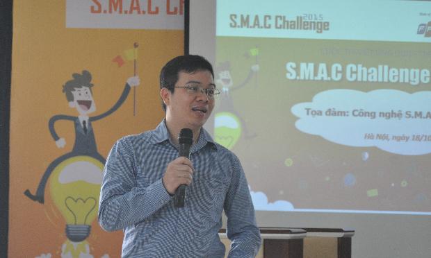 Phó Ban FTI Nguyễn Ngọc Minh chia sẻ nhiều về các chế độ đãi ngộ cho các sinh viên trẻ khi gia nhập FPT.