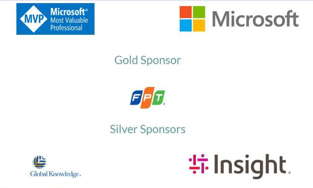 Trong 13 nhà tài trợ cho sự kiện, FPT là doanh nghiệp Việt Nam duy nhất.