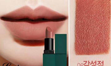 Thỏi son cam đất dưới 200.000 đồng cho các nàng thích makeup kiểu Tây