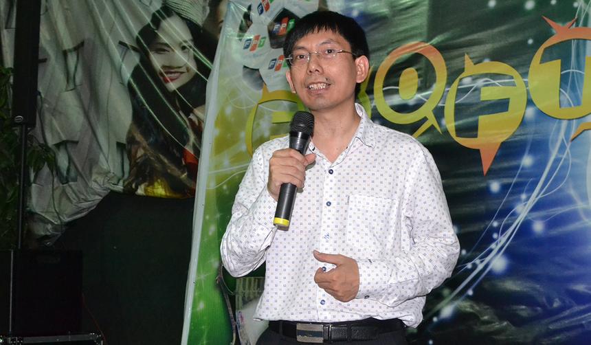 GĐ FPT Software Đà Nẵng Nguyễn Tuấn Phương, gửi lời chúc đến toàn thể các cầu thủ và đội bóng đã trải qua mùa giải thành công, đặc biệt nhà vô địch BU17.