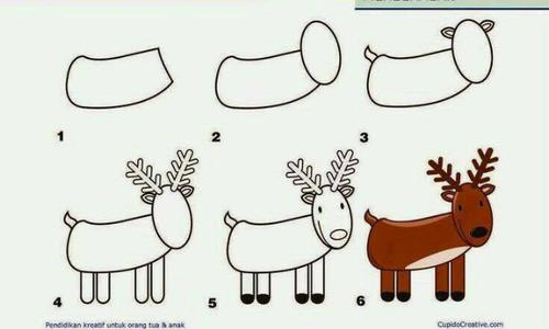 Dạy bé vẽ mọi con vật 'dễ như ăn kẹo'