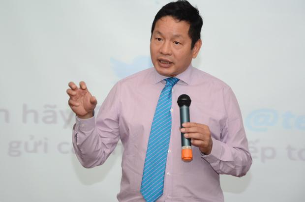 """Ngày 18/10, Viện Quản trị Kinh doanh FPT (FSB thuộc ĐH FPT) sẽ tổ chức chương trình hội thảo chủ đề """"Tư duy người chủ"""" với diễn giả chính là Chủ tịch FPT Trương Gia Bình."""