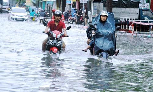 FPTer đau đáu với 'Sài Gòn mùa nước lũ'