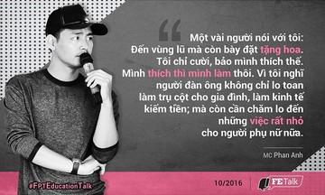 16 câu nói truyền cảm hứng của MC Phan Anh đến sinh viên FPT