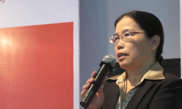Chị Kim Ánh sẽ giải đáp thắc mắc của ứng viên tham gia chương trình.