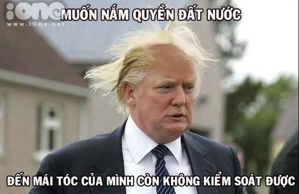 Mái tóc bù xù của ông trở thành điểm nhấn trong chiến dịch tranh cử vừa qua.
