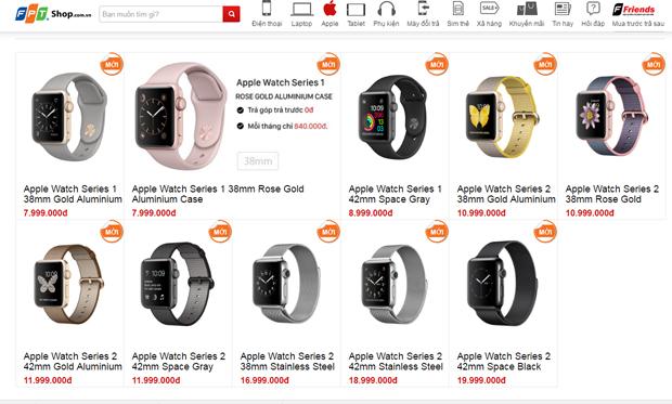 Apple Watch thế hệ mới về Việt Nam, giá từ 7,99 triệu đồng