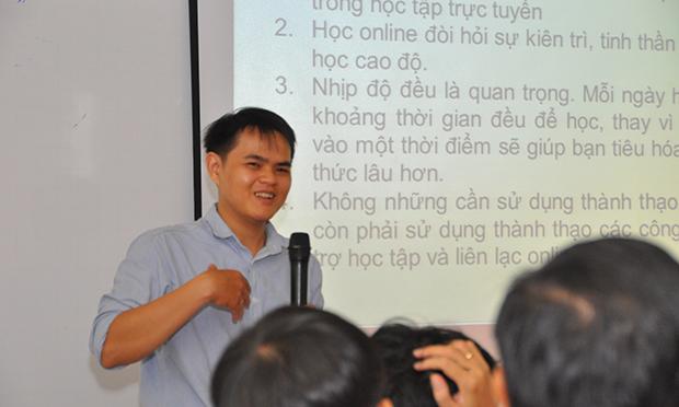 Mentor Trương Đắc Tài hiện đang làm việc tại FPT Software.
