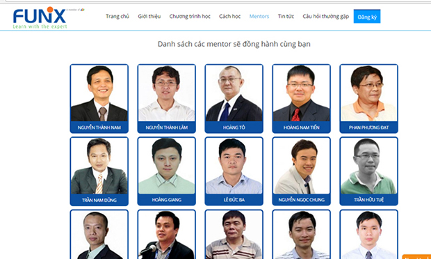 Nhiều mentor ở FUNiX là những chuyên gia công nghệ hàng đầu của Việt Nam.