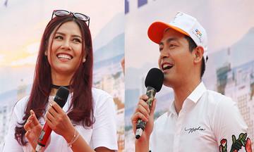 MC Phan Anh và Hoa hậu Nguyễn Thị Loan nhiệt tình hoạt động cộng đồng