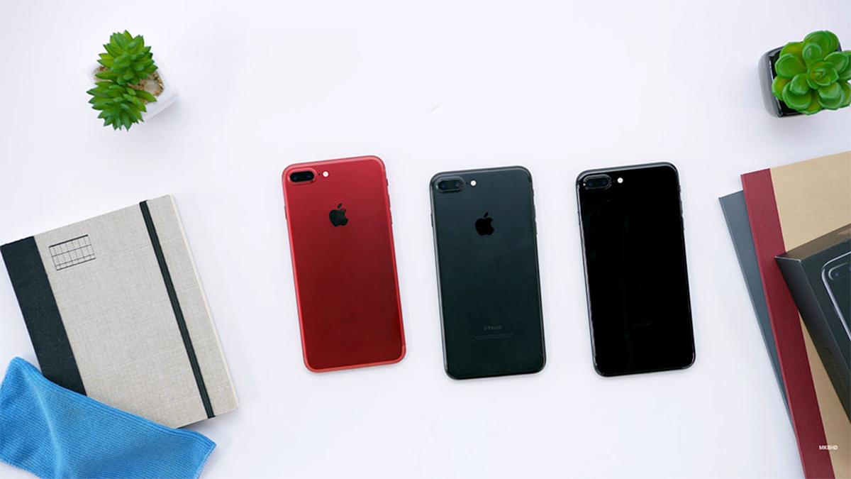 Những Hình ảnh đầu Tiên Về Iphone 7 Plus Phiên Bản Màu đỏ