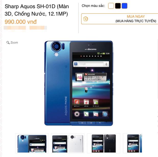 Giá smartphone 'chạm đáy', nhiều lựa chọn giá dưới 1 triệu đồng
