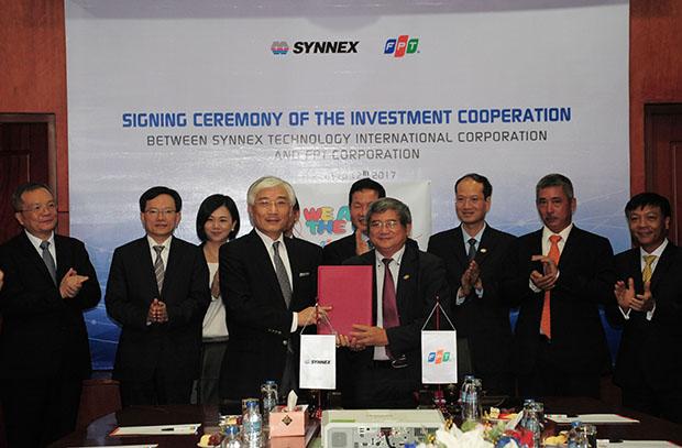 Synnex trở thành nhà đầu tư chiến lược của FPT Trading.