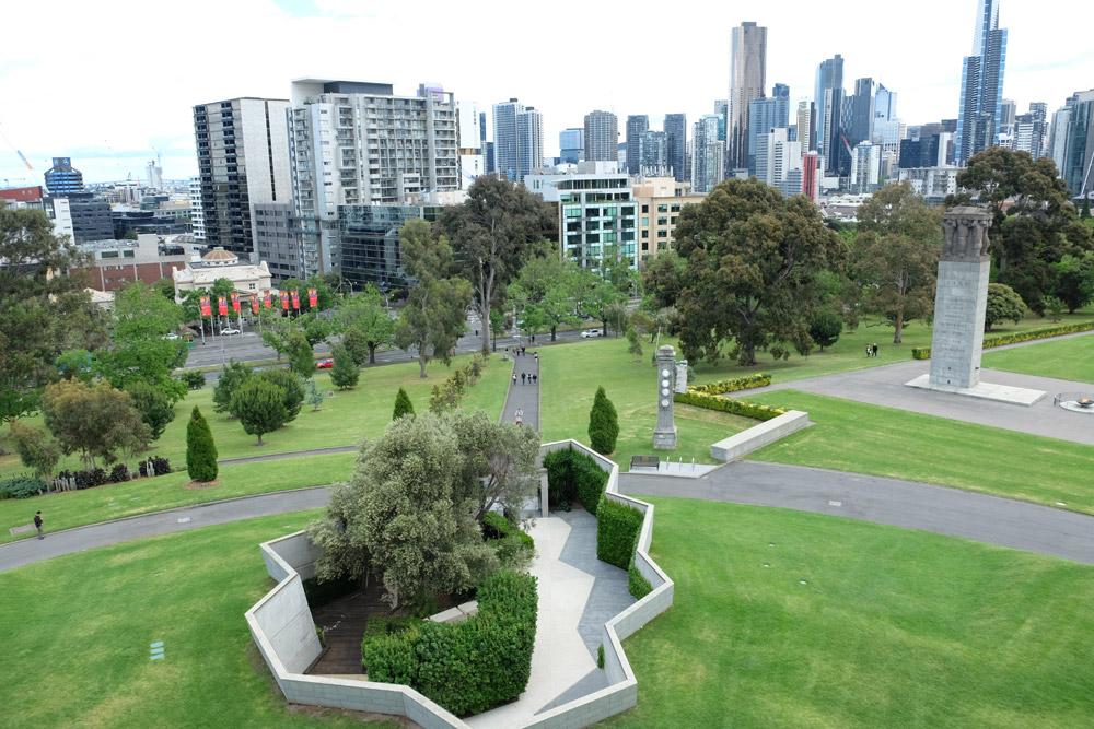 Đài tưởng niệm (Shrine of Remembrance) là công trình tưởng niệmnhững người Australia đã phục vụ cho tổ quốc trong chiến tranh.