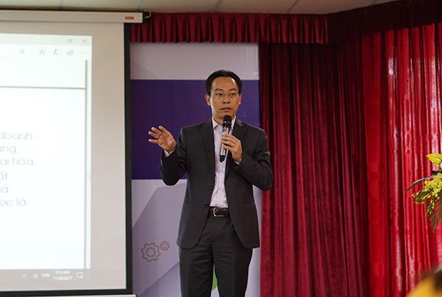 PGS. TS Hoàng Minh Sơn - Hiệu trưởng trường Đại học Bách khoa Hà Nội.