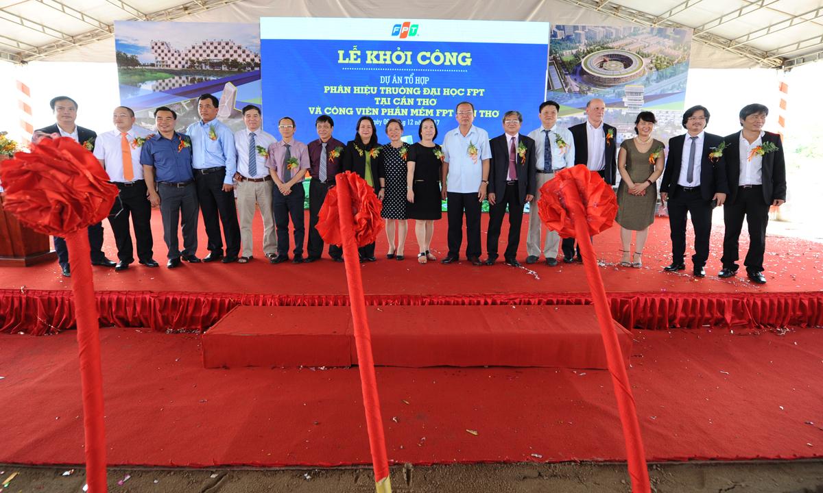 Dự án Tổ hợp phân hiệu Đại học FPT Cần Thơ và Công viên phần mềm FPT Cần Thơ là công trình thứ 12 thuộc sở hữu của FPT trên toàn quốc. Trước đó, FPT đã sở hữu 11 công trình - tòa nhà văn phòng, tại Hà Nội (FPT Cầu Giấy; Đại học FPT Hòa Lạc, Làng Phần mềm F-Ville 1, 2), Đà Nẵng (FPT Massda, FPT Complex) và TP HCM (F-Town 1 & 2, FPT Tân Thuận 1, 2 và 3).