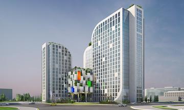 Hình ảnh 3D khu Tổ hợp FPT Tower