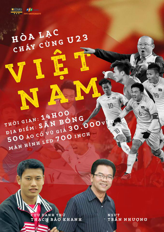 Poster của chương trình. Ảnh: ĐH FPT Hà Nội.