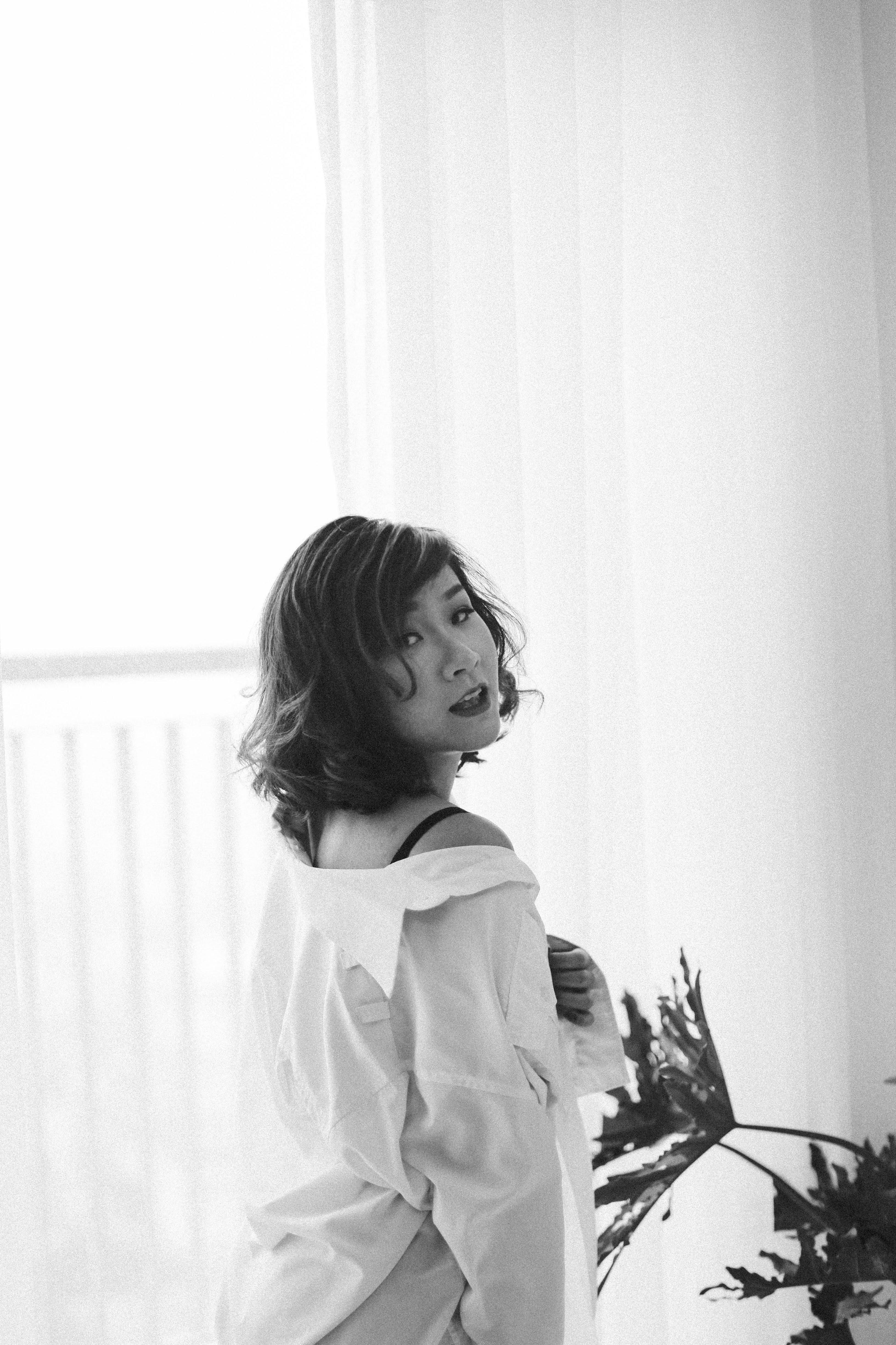 """Cô tâm niệm: """"Là phụ nữ dù độc thân hay đã lập gia đình, hãy luôn xinh đẹp và yêu bản thân. Mình hạnh phúc thì mới làm mọi người hạnh phúc""""."""