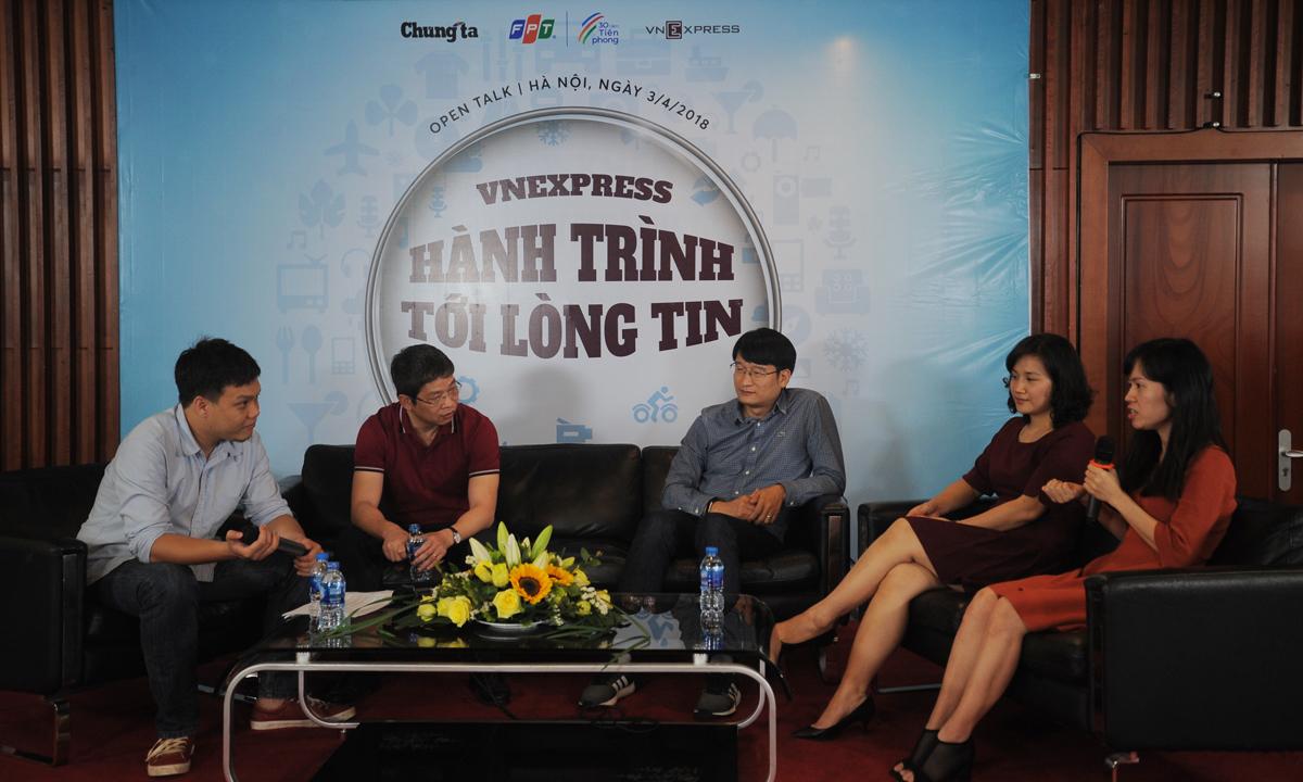 """VnExpress bước vào thập kỷ phát triển thứ hai với vị thế """"báo tiếng Việt được nhiều người đọc nhất"""" và phải đối mặt với những gã khổng lồ đang lớn lên từng ngày trên quy mô toàn cầu là Facebook, Google. Với những """"quái vật điện tử"""" đó, VnExpress chọn chiến lược sống chung, """"khiêu vũ"""" cùng.Thời kỳ này, VnExpress cũng tổ chức hàng loạt event, gây được tiếng tăm trong giới công nghệ, nghệ sĩ như Số hóa với Tech Awards, Miss Ngoisao, Couple 3K của iOne..."""