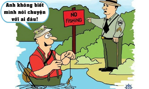 Vua nói dối đi câu cá