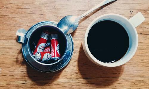 Mùi vị cà phê pin