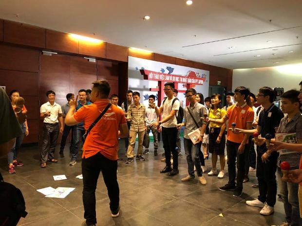 Bên cạnh đó, các ứng viên còn được tham gia trò chơiKendama của Nhật với những phần quà hấp dẫn.