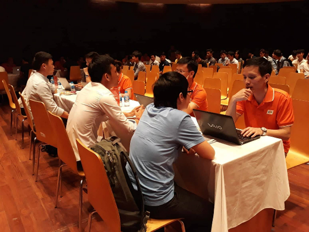 150 ứng viên tham gia phỏng vấn trực tiếp tại chương trình để có cơ hội được tham gia vào đội ngũ onsite Nhật Bản của FPT Software.