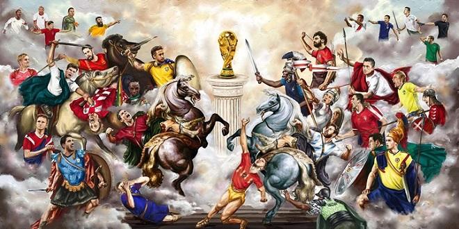 World Cup là giải vô địch bóng đá thế giới dành cho các đội tuyển quốc gia. Để trở thành nhà vô địch, những đội bóng phải trải qua hành trình chông gai.