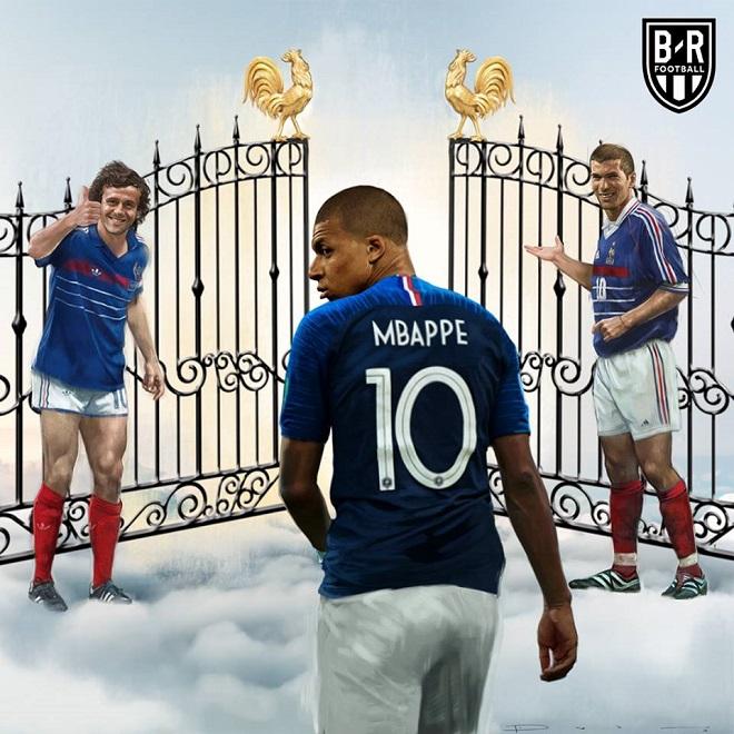 Mbappe chính thức đi vào lịch sử bóng đá Pháp.