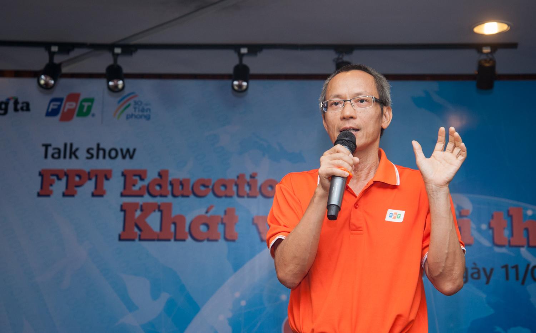 Anh Nguyễn Khắc Thành cho rằng chiến lược xuất khẩu phần mềm là khởi thủy của nhà Giáo dục. Tự chủ nguồn lực kỹ sư CNTT là việc phải làm song song với xuất khẩu phần mềm.