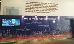 FPT Duy Tân trang hoàng trước Đại lễ 30 năm