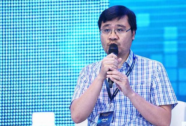 anh Vương Quang Long, người sáng lập Tomochain, một trong 2 ICO thành công nhất Việt Nam.