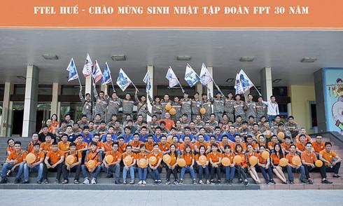 FPT Telecom Huế lan tỏa sắc cam