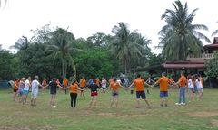 Khi các nhà tổ chức sự kiện FPT được chơi team-building