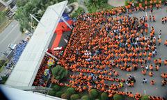 Không khí 'Đại lễ FPT 30 năm Tiên phong' qua góc máy trên cao